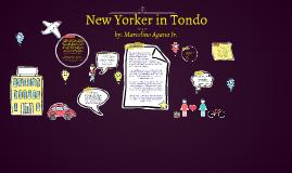 Copy of New Yorker in Tondo