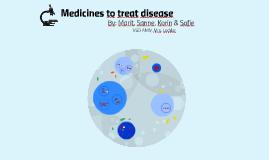 Medicines to treat disease