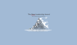 The Noro Leadership Award