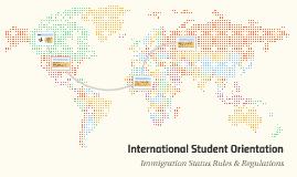 Orientation: Immigration Status