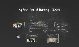 My First Year of Teaching! 2015-2016