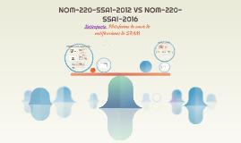 NOM-220-SSA1-2012 VS PROY-NOM-220-SSA1-2015