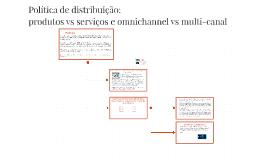 Política de distribuição: