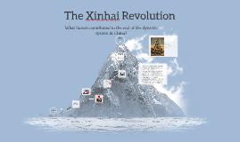 The Xinhai Revolution