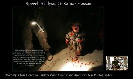 Speech Analysis #1: Samar Hassan