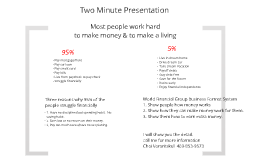 Two Minute Presentation