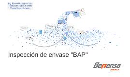 Inspección de envase BAP