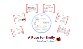 the narrators characterization of emily in a rose for emily a short story by william faulkner Point of view analysis of a rose for emily by william faulkner describe and introduce the main characters 2 / 523: rose the short story °a rose for emily.