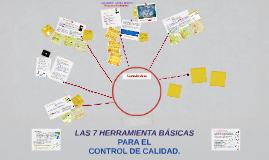 HERRAMIENTAS PARA EL CONTROL DE CALIDAD.