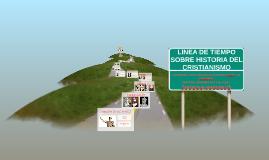 Copy of LINEA DE TIEMPO SOBRE HISTORIA DEL CRISTIANISMO