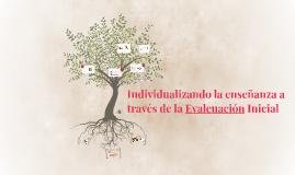 Individualizando la enseñanza a través de la Evalcuación Ini