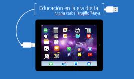 Copy of Educación en la era digital