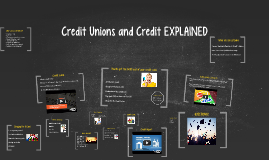 The Real World - Reality of Credit