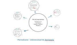 Pregrado de Periodismo - Universidad de Antioquia