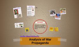 Analysis of War Propaganda