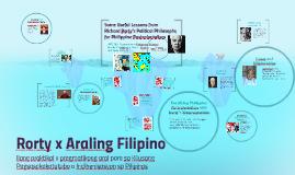 Rorty x Philippine Studies