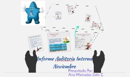 Informe Auditoria Interna Noviembre