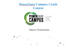 PowerSave Campus Crash Course