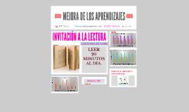 MEJORA DE LOS APRENDIZAJES