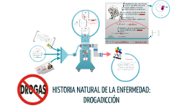 Copy of HISTORIA NATURAL DE LA ENFERMEDAD: DROGADICCIÓN