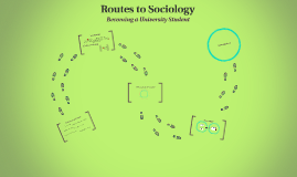 Routes to Sociology