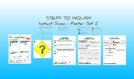 Copy of  Instant Snow: Poster Set 2