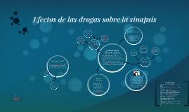Copy of efectos de las drogas sobre la sinapsis