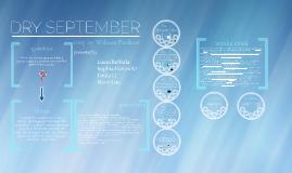 Copy of Dry September