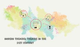 Modern Theatre: Theatre in the 21st Century