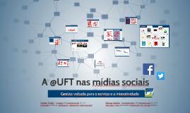 A @UFT nas mídias sociais