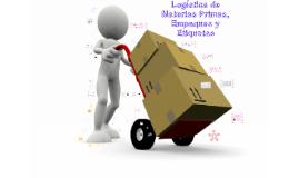 Copy of Materias Primas, Empaque y Etiqueta