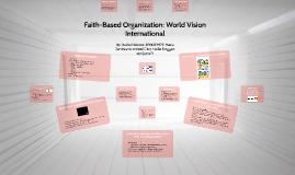 Faith-Based Organizations