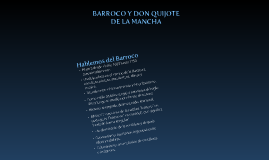Copy of BARROCO Y DON QUIJOTE DE LA MANCHA