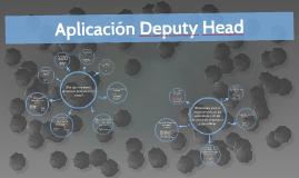 Aplicación Deputy Head