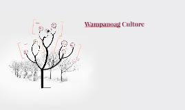 Wampanoag Culture