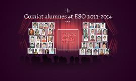 Comiat alumnes 4t ESO 2013-2014