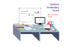 Dvision Vocabulary 3rd Grade