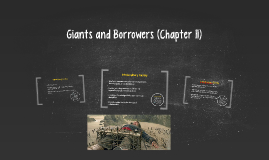 Giants and Borrowers (Chapter 11)