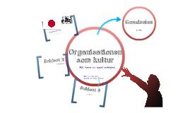 Organisationen som kultur