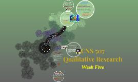 CNS 507 82A1 Week 5