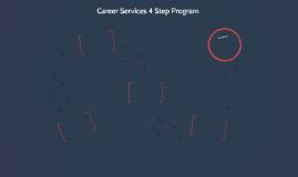 Career Services 4 Step Program