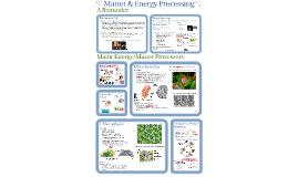 Copy of AP Bio- Matter 7:  Matter & Energy Processing.