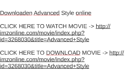 Download how to be single 2016 movie by robert waldbillig on prezi downloaden advanced style online ccuart Image collections