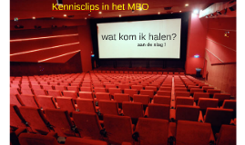 Kennisclips in het MBO