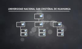 UNIVERSIDAD NACIONAL SAN CRISTOBÁL DE HUAMANGA