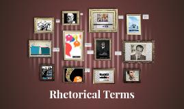Copy of rhetorical terms too