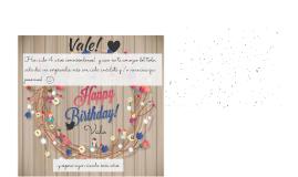 Copy of Feliz cumpleaños Rocío