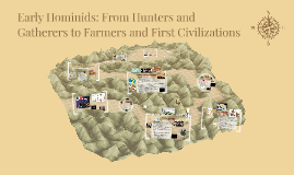 Early Hominids-From Hunters and Gatherers to Farmers