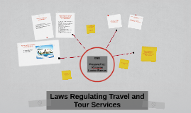 Copy of Laws Regulating Travel and Tour Services