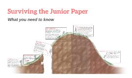 Surviving the Junior Paper